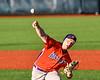 Cortland Crush Brian Wojichowski (38) pitching against the Syracuse Salt Cats at OCC Turf Field in Syracuse, New York on Thursday, June 21, 2018. Syracuse won 6-2.