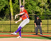 Cortland Crush Brian Wojichowski (38) pitching against the Syracuse Salt Cats at OCC Turf Field in Syracuse, New York on Thursday, June 21, 2018. Syracuse won 6-2.