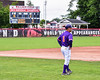 Cortland Crush Head and 3rd Base Coach Bill McConnell (6) during the game against the Rome Generals on Wallace Field in Cortland, New York on Sunday, June 23, 2018. Cortland won 14-5.