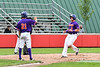 Cortland Crush Hayden Houts (5) scores a run against the Rome Generals on Wallace Field in Cortland, New York on Sunday, June 23, 2018. Cortland won 14-5.