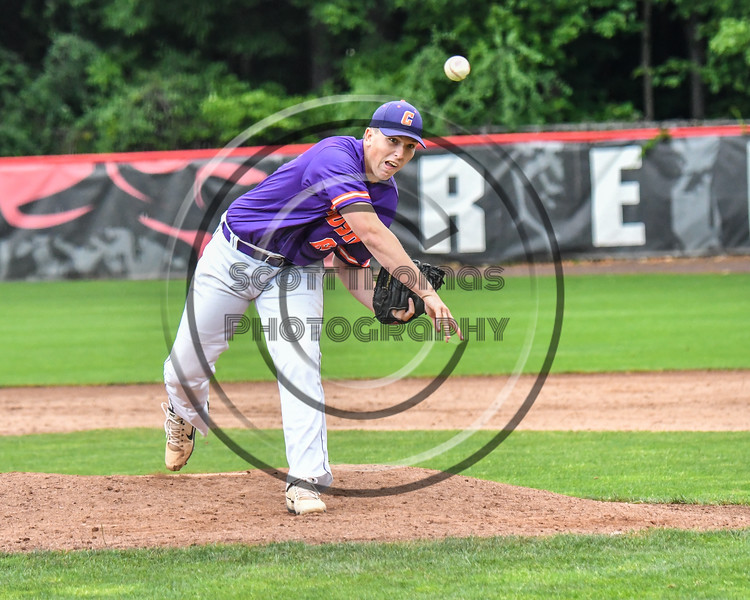 Cortland Crush Daniel Steve (62) pitching against the Rome Generals on Wallace Field in Cortland, New York on Sunday, June 23, 2018. Cortland won 14-5.