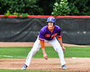 Cortland Crush Alex Flock (2) on base against the Rome Generals on Wallace Field in Cortland, New York on Sunday, June 23, 2018. Cortland won 14-5.