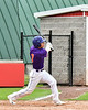 Cortland Crush Anthony Cieszko (3) after hitting the ball against the Rome Generals on Wallace Field in Cortland, New York on Sunday, June 23, 2018. Cortland won 14-5.