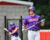 Cortland Crush Hayden Houts (5) before his at bat against the Rome Generals on Wallace Field in Cortland, New York on Sunday, June 23, 2018. Cortland won 14-5.