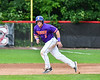 Cortland Crush Hayden Houts (5) running the bases against the Rome Generals on Wallace Field in Cortland, New York on Sunday, June 23, 2018. Cortland won 14-5.