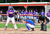 Cortland Crush Hayden Houts (5) at bat against the Rome Generals on Wallace Field in Cortland, New York on Sunday, June 23, 2018. Cortland won 14-5.