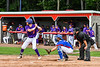Cortland Crush Justin Valentino (15) at bat against the Rome Generals on Wallace Field in Cortland, New York on Sunday, June 23, 2018. Cortland won 14-5.
