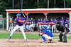 Cortland Crush Alex Flock (2) at bat against the Rome Generals on Wallace Field in Cortland, New York on Sunday, June 23, 2018. Cortland won 14-5.
