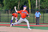 Cortland Crush Logan Persse (36) pitching against the Onondaga Flames at OCC Turf Field in Syracuse, New York on Saturday, June 30, 2018. Onondaga won 9-7.