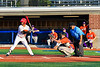 Cortland Crush Benjamin Horsfall (22) catching against the Onondaga Flames at OCC Turf Field in Syracuse, New York on Saturday, June 30, 2018. Onondaga won 9-7.