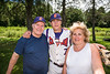 Cortland Crush Tyler McKeon (7) with his parents on Greg's Field at Beaudry Park in Cortland, New York on Sunday, July 22, 2018.