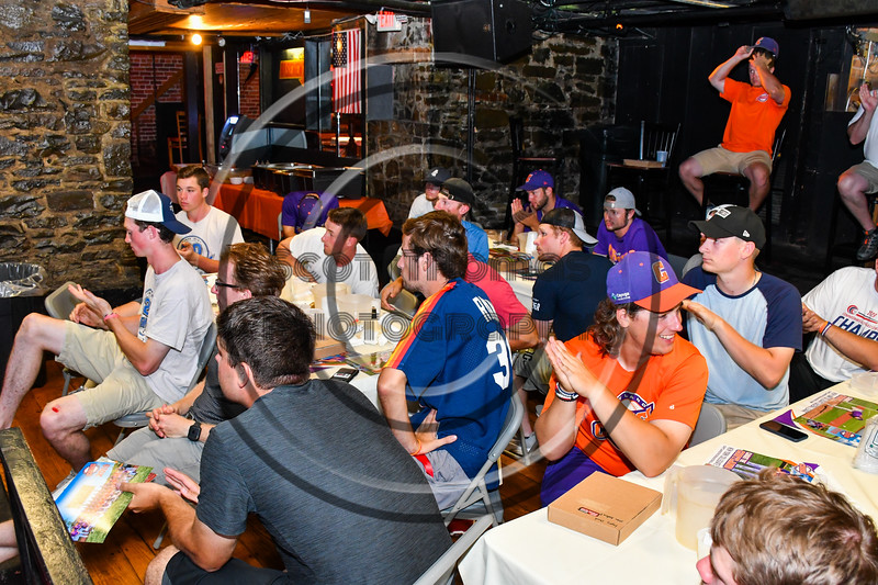 Cortland Crush Season ending banquet at Hairy Tony's Basement in Cortland, New York on Thursday, July 21, 2019.