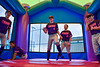 Bounce House for the Cortland Crush Home Opener at Cortland, New York on Saturday, June 8, 2019.