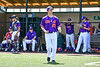 "Cortland Crush Brandon ""Buzz"" Shirley (27) being introduced before playing the Mansfield Destroyers in a New York Collegiate Baseball League game at the Gutchess Lumber Sports Complex in Cortland, New York on Saturday, June 8, 2019."