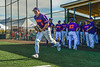 Cortland Crush Jack Lynch (2) being introduced before playing the Mansfield Destroyers in New York Collegiate Baseball League action at Gutchess Lumber Sports Complex in Cortland, New York on Saturday, June 8, 2019.