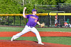 Cortland Crush Charlie Hammel (28) pitching against the Mansfield Destroyers in New York Collegiate Baseball League action at Gutchess Lumber Sports Complex in Cortland, New York on Saturday, June 8, 2019. Mansfield won 7-6.