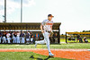 Cortland Crush Alex Flock (10) being introduced before playing the Sherrill Silversmiths in a New York Collegiate Baseball League game at Gutchess Lumber Sports Complex in Cortland, New York on Friday, June 14, 2019.