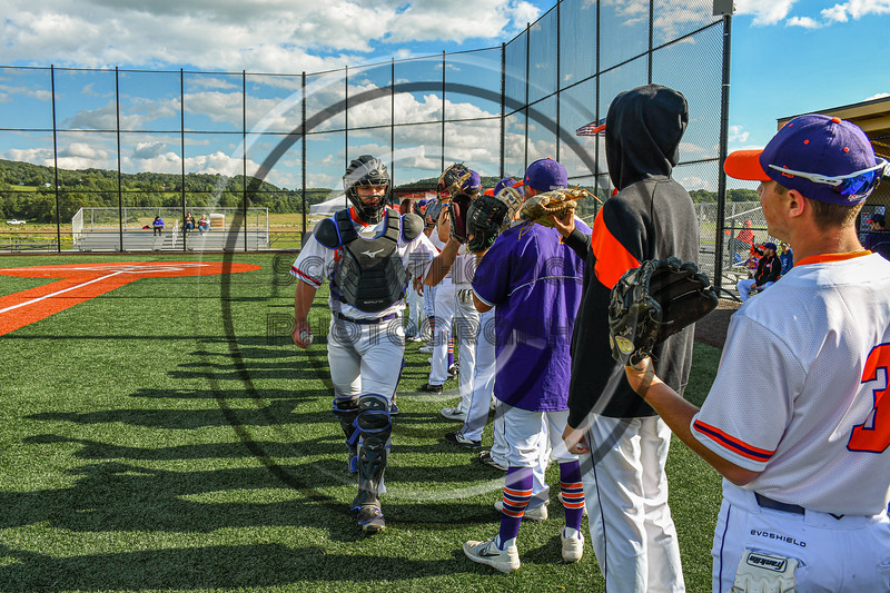 Cortland Crush hosted the Sherrill Silversmiths in New York Collegiate Baseball League action at Gutchess Lumber Sports Complex in Cortland, New York on Friday, June 14, 2019.