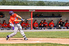 Cortland Crush Stephen Bennett (30) hits the ball against the Rome Generals in New York Collegiate Baseball League action at Larry Delutis Field in Rome, New York on Saturday, June 22, 2019. Cortland won 16-9.