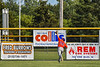 Cortland Crush Garrett Callghan (15) chases after the ball against the Rome Generals in New York Collegiate Baseball League action at Larry Delutis Field in Rome, New York on Saturday, June 22, 2019. Cortland won 16-9.
