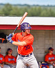 Cortland Crush Stephen Bennett (30) at bat against the Rome Generals in New York Collegiate Baseball League action at Larry Delutis Field in Rome, New York on Saturday, June 22, 2019. Cortland won 16-9.