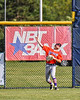Cortland Crush Nicholas Pastore (1) throwing the ball from Center Field against the Rome Generals in New York Collegiate Baseball League action at Larry Delutis Field in Rome, New York on Saturday, June 22, 2019. Cortland won 16-9.