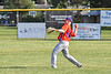 Cortland Crush Drew Boli (40) throwing the ball against the Rome Generals in New York Collegiate Baseball League action at Larry Delutis Field in Rome, New York on Saturday, June 22, 2019. Cortland won 16-9.
