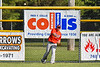 Cortland Crush Garrett Callghan (15) throwing the ball against the Rome Generals in New York Collegiate Baseball League action at Larry Delutis Field in Rome, New York on Saturday, June 22, 2019. Cortland won 16-9.