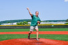 Throwing out the First Pitch before the Cortland Crush played the Syracuse Salt Cats in a New York Collegiate Baseball League game at Gutchess Lumber Sports Complex in Cortland, New York on Sunday, June 23, 2019.