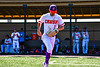 Cortland Crush Nicholas Pastore (1) being introduced before playing the Syracuse Salt Cats in a New York Collegiate Baseball League game at Gutchess Lumber Sports Complex in Cortland, New York on Sunday, June 23, 2019.