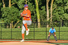 Cortland Crush Tommy Scherrer (25) pitching against the Syracuse Salt Cats in New York Collegiate Baseball League action at OCC Turf Field in Syracuse, New York on Wednesday, June 26, 2019. Syracuse won 7-2.