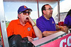Cortland Crush staffers working during a New York Collegiate Baseball League game at Gutchess Lumber Sports Complex in Cortland, New York on Thursday, June 27, 2019.