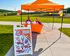 Cortland Crush staffers manning the ticket booth at Gutchess Lumber Sports Complex in Cortland, New York on Thursday, June 27, 2019.