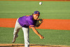 Cortland Crush Charlie Hammel (28) pitching against the Syracuse Salt Cats in New York Collegiate Baseball League action at OCC Turf Field in Syracuse, New York on Saturday, June 29, 2019. Cortland won 4-1.