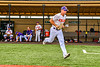 Cortland Crush Drew Boli (40) being introduced before playing the Sherrill Silversmiths in a New York Collegiate Baseball League game at Gutchess Lumber Sports Complex in Cortland, New York on Thursday, July 21, 2019.