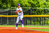 Cortland Crush Tommy Scherrer (25) pitching against the Sherrill Silversmiths in New York Collegiate Baseball League action at Gutchess Lumber Sports Complex in Cortland, New York on Thursday, July 21, 2019. Cortland won 5-0.