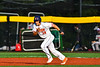 Cortland Crush Dylan Nolan (14) running the bases against the Syracuse Salt Cats in New York Collegiate Baseball League playoff action at Gutchess Lumber Sports Complex in Cortland, New York on Thursday, July 24, 2019. Cortland won 1-0 in extra innings.