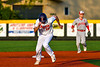 Cortland Crush Alex Flock (10) running the bases against the Syracuse Salt Cats in New York Collegiate Baseball League playoff action at Gutchess Lumber Sports Complex in Cortland, New York on Thursday, July 24, 2019. Cortland won 1-0 in extra innings.