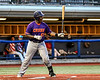 Cortland Crush Kam Holland (43) at bat against the Syracuse Salt Cats in New York Collegiate Baseball League playoff action at OCC Turf Field in Syracuse, New York on Thursday, July 25, 2019. Cortland won 3-1.