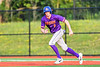 Cortland Crush Jack Lynch (2) running the bases against the Syracuse Salt Cats in New York Collegiate Baseball League playoff action at OCC Turf Field in Syracuse, New York on Thursday, July 25, 2019. Cortland won 3-1.