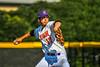 Cortland Crush Jimmy Tatum (17) pitching against the Niagara Power in New York Collegiate Baseball League playoff action at Gutchess Lumber Sports Complex in Cortland, New York on Saturday, July 27, 2019. Niagara won 10-6.