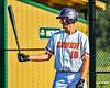 Cortland Crush Alex Flock (10) at bat against the Niagara Power in New York Collegiate Baseball League playoff action at Gutchess Lumber Sports Complex in Cortland, New York on Saturday, July 27, 2019. Niagara won 10-6.