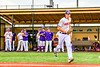 Cortland Crush Jack Lynch (2) being introduced before playing the Niagara Power in the first game of the New York Collegiate Baseball League Championship Series at Gutchess Lumber Sports Complex in Cortland, New York on Saturday, July 27, 2019.