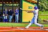 Cortland Crush Jack Lynch (2) hits the ball against the Niagara Power in New York Collegiate Baseball League playoff action at Gutchess Lumber Sports Complex in Cortland, New York on Saturday, July 27, 2019. Niagara won 10-6.