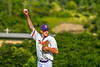 Cortland Crush Jonathan Triesler (19) on the mound against the Niagara Power in New York Collegiate Baseball League playoff action at Gutchess Lumber Sports Complex in Cortland, New York on Saturday, July 27, 2019. Niagara won 10-6.