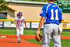 Cortland Crush Garrett Callghan (15) running the bases against the Niagara Power in New York Collegiate Baseball League playoff action at Gutchess Lumber Sports Complex in Cortland, New York on Saturday, July 27, 2019. Niagara won 10-6.