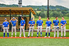 Niagara Power Starting Lineup against the Cortland Crush in the New York Collegiate Baseball League Championship Series at Gutchess Lumber Sports Complex in Cortland, New York on Saturday, July 27, 2019.