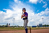 Cortland Crush Anthony Cieszko (3) in the On Deck Circle before his at bat against the Niagara Power in New York Collegiate Baseball League playoff action at Sal Maglie Stadium in Niagara Falls, New York on Sunday, July 28, 2019. Niagara won 12-6.