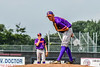 Cortland Crush Pitcher Jonathan Triesler (19) on the mound against the Niagara Power in New York Collegiate Baseball League playoff action at Sal Maglie Stadium in Niagara Falls, New York on Sunday, July 28, 2019. Niagara won 12-6.