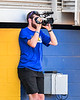 Former Syracuse Crunch Intern Kyle Barker doing his thing with the Niagara Power during the New York Collegiate Baseball League playoff game at Sal Maglie Stadium in Niagara Falls, New York on Sunday, July 28, 2019.